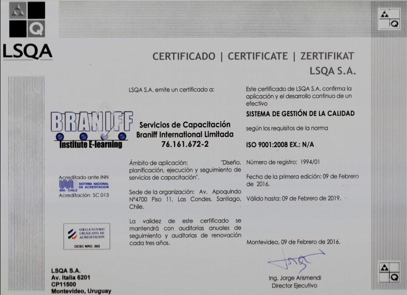 Certificacion 9001